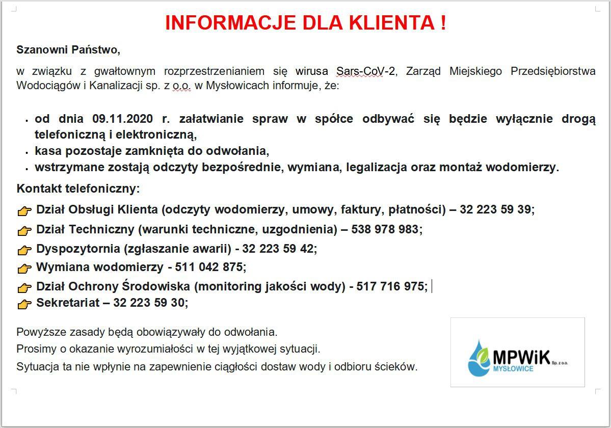 Informacja Epidemiologiczna